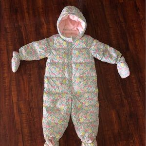 Baby Gap Down filled SnowSuit 6-12 mos